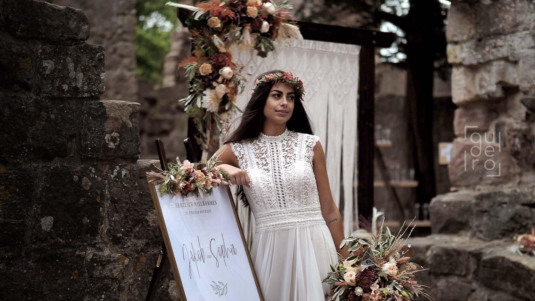 Oktober 2020 - Herbst Hochzeit Styled Shoot